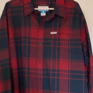 Columbia plaid shirt